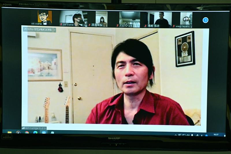 L.被A.轉播遠隔!舉行了出自經手紅·熱·智利·紙的Kenji Nakai的特別的講座